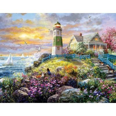 Puzzle Sunsout-19309 Nicky Boehme - A Lighthouse Memory