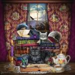 Puzzle  Sunsout-20114 Brigid Ashwood - Storytime Cats