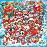 Puzzle  Sunsout-21846 Pièces XXL - Cat Chorus