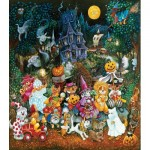 Puzzle  Sunsout-21899 Pièces XXL - Trick or Treat Dogs