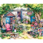 Puzzle  Sunsout-24324 Pièces XXL - Wonderful Whirligigs