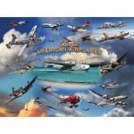 Puzzle  Sunsout-24526 Larry Grossman - Classic American Planes
