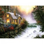 Puzzle  Sunsout-26130 Pièces XXL - River's Edge