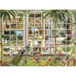 Puzzle  Sunsout-27250 Barbara Behr - Gardens in Art