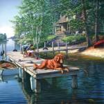 Puzzle  Sunsout-28451 James A. Meger - Summer Vacation