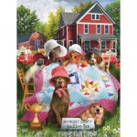 Puzzle  Sunsout-28557 Pièces XXL - Smile Ladies