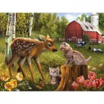 Puzzle  Sunsout-28618 Pièces XXL - Want to be Friends