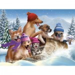 Puzzle  Sunsout-28695 Pièces XXL - Winter Fun