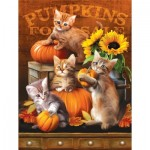 Puzzle  Sunsout-28762 Pièces XXL - Autumn Kitties