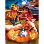 Puzzle  Sunsout-28810 Pièces XXL - Happy Halloween
