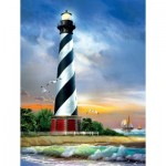 Puzzle  Sunsout-28835 Pièces XXL - Cape Hatteras Lighthouse