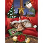Puzzle  Sunsout-28836 Pièces XXL - To All a Merry Christmas