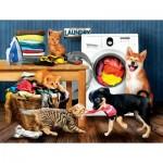 Puzzle  Sunsout-28930 Pièces XXL - Laundry Room Laughs