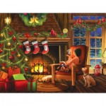 Puzzle  Sunsout-29738 Pièces XXL - Dreaming of Christmas