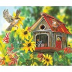Puzzle  Sunsout-30605 Janene Grende - Ol MacDonald Way