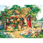 Puzzle  Sunsout-31354 Pièces XXL - Barbara Mock - Gardener's  Haven