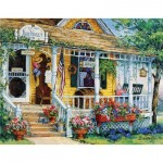 Puzzle  Sunsout-31366 Pièces XXL - Barbara Mock - Blue Violet Antiques