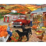 Puzzle  Sunsout-31429 Bigelow Illistrations - Roadside Stand