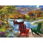Puzzle  Sunsout-31471 Pièces XXL - Lake Life