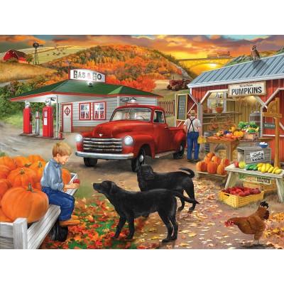 Puzzle Sunsout-31476 Bigelow Illustrations - Roadside Stand