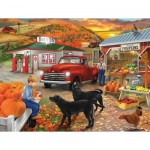 Puzzle  Sunsout-31476 Bigelow Illustrations - Roadside Stand
