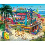 Puzzle  Sunsout-31556 Pièces XXL - Shaggy's Surf Shop