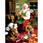 Puzzle  Sunsout-32138 Pièces XXL - Bearly Christmas