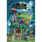 Puzzle  Sunsout-32206 Legacy Tree - Trick or Treat for All Ages