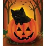 Puzzle  Sunsout-32724 Pièces XXL - Halloween Kitten