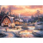 Puzzle  Sunsout-33714 Pièces XXL - Country Holidays