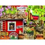 Puzzle  Sunsout-34751 Pièces XXL - Milk House Crew