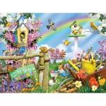 Puzzle  Sunsout-34840 Pièces XXL - Spring Egg Hunt