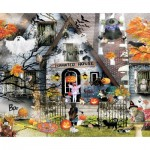 Puzzle  Sunsout-34965 Lori Schory - Haunted House