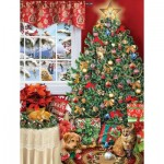 Puzzle  Sunsout-35012 Pièces XXL - Catastro-tree