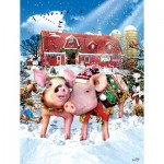 Puzzle  Sunsout-35048 Pièces XXL - The Christmas Sweater