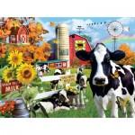 Puzzle  Sunsout-35078 Pièces XXL - Lori Schory - Dairy Farm