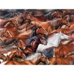 Puzzle  Sunsout-35310 Pièces XXL - Horse of a Different Color