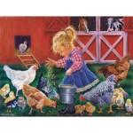 Puzzle  Sunsout-35846 Pièces XXL - Farm Girl
