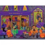 Puzzle  Sunsout-35970 Pièces XXL - Tricia Reilly-Matthews - Witch Broom Shop