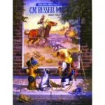Puzzle  Sunsout-36030 Don Crook - Sidewalk Cowboy