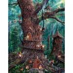 Puzzle  Sunsout-36510 Pièces XXL - Jeff Tift - Forest Gnomes
