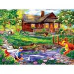 Puzzle  Sunsout-36837 Cory Carlson - Summer Retreat
