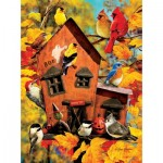 Puzzle  Sunsout-37118 Greg Giordano - Fall Birds