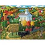 Puzzle  Sunsout-38761 Pièces XXL - A Country Church