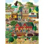 Puzzle  Sunsout-38936 Pièces XXL - Western Town