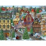 Puzzle  Sunsout-38937 Pièces XXL - Winter Village Square