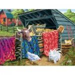 Puzzle  Sunsout-38946 Pièces XXL - Joseph Burgess - Quilt Cow