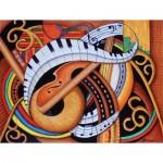 Puzzle  Sunsout-39366 Pièces XXL - Sound of Soul Strings