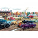 Puzzle  Sunsout-39397 Ken Zylla - Demolition Derby