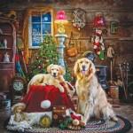 Puzzle  Sunsout-39435 Larry Hersberger - Santa's Little Helpers